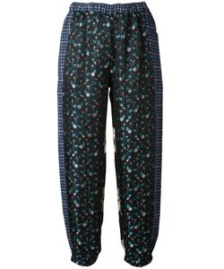 Hache | Print Trousers 42