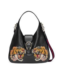 Gucci | Dionysus Embroidered Large Leather Hobo