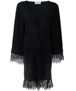 ANTONIA ZANDER   Drawstring Cardi-Coat Medium Cotton/Polypropylene/Cashmere