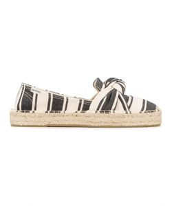 Soludos | Striped Bow Detail Espadrilles