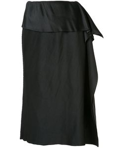 Issey Miyake | Draped Detail Pleated Skirt
