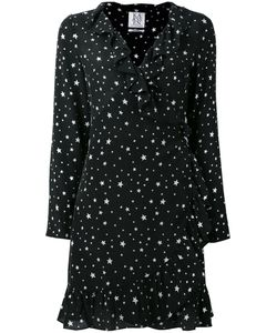 Zoe Karssen | Stars Print Ruffled Dress Size Xs