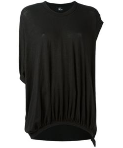 Lost & Found Ria Dunn | Draped Asymmetric T-Shirt Size Xs