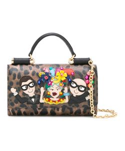 Dolce & Gabbana | Mini Von Designers Patch Crossbody Bag