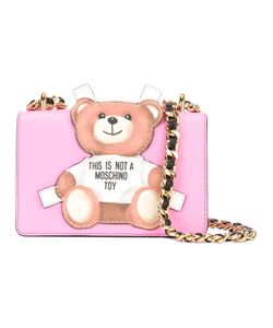 Moschino   Toy Bear Paper Cut Out Crossbody Bag Leather/Calf