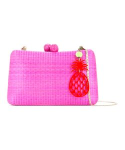SERPUI | Woven Box Clutch Bag