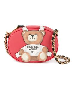 Moschino | Teddy-Bear Cross-Body Bag Leather/Metal
