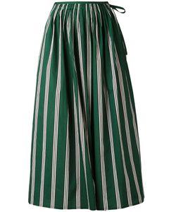 Aspesi   Gathered Striped Skirt 40
