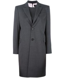 Dsquared2 | Long Single Breasted Coat 42 Wool/Spandex/Elastane/Polyester/Viscose