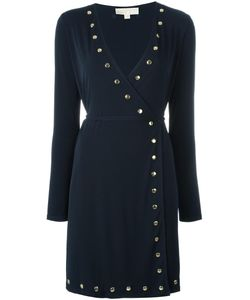 Michael Michael Kors | Studded Wrap Dress Small Polyester/Spandex/Elastane