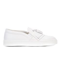 Louis Leeman | Frayed Slip-On Sneakers Size 43