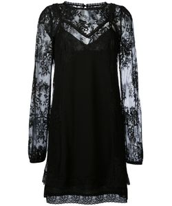 Mcq Alexander Mcqueen | Lace Overlay Dress Size 40