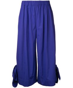 MSGM | Wide-Legged Cropped Trousers 42