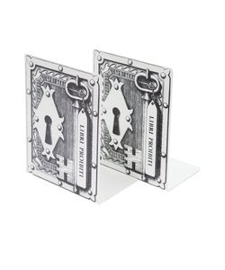 FORNASETTI | Lock Book Ends