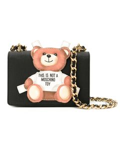 Moschino | Toy Bear Paper Cut Out Crossbody Bag Calf