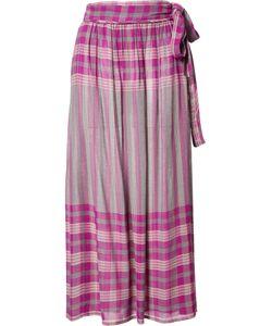 A PIECE APART   Apiece Apart Midi Wrap Skirt 2 Rayon