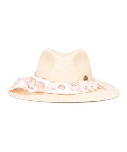 Maison Michel | Scarf Hat Medium Cotton/Straw
