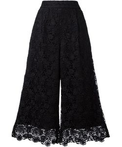 Diane Von Furstenberg | Cropped Lace Trousers Size 6 Polyester