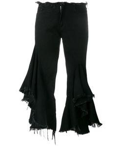 Marques Almeida | Marquesalmeida Frayed Ruffle Jeans 10 Cotton