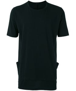 THE VIRIDI-ANNE | Patch Pockets T-Shirt 4 Cotton