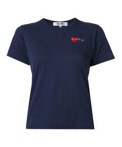 Comme des Gar ons Play | Comme Des Garçons Play Embroide Heart T-Shirt Womens Size Xs