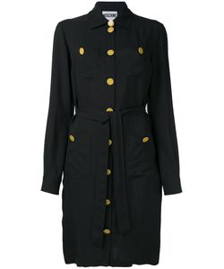 Moschino | Military Button Shirt Dress