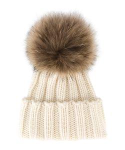 Inverni | Racoon Fur Bobble Hat