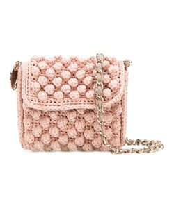Missoni | M Knitted Cross Body Bag Cotton/Polyamide/Polyester/
