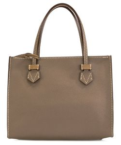 Moreau | Small Contrast Tote Bag Calf Leather/Goat Skin