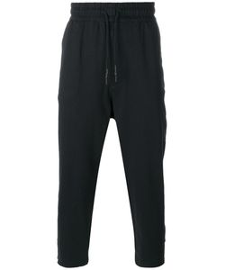 Y-3 | Cropped Track Pants Medium Cotton