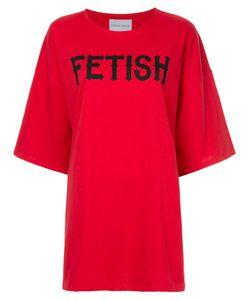 STRATEAS CARLUCCI | Carbon Fetish T-Shirt Women