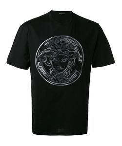 Versace   Embroidered Medusa T-Shirt Size Small