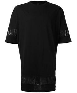 Odeur | Organza-Trimmed T-Shirt Xs