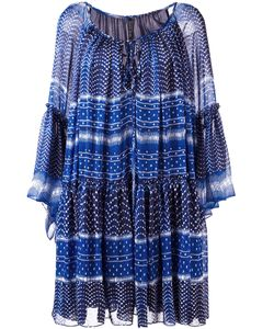 Plein Sud | Peasant Dress 36 Silk/Polyamide/Acetate