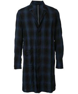 KAZUYUKI KUMAGAI | Checked Midi Shirt Coat