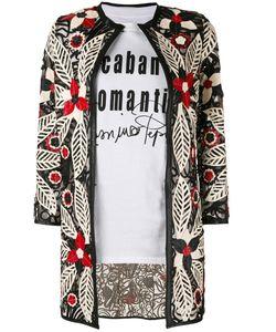 CABAN ROMANTIC | Пиджак С Цветочной Вышивкой