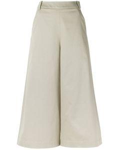 GLORIA COELHO | Cropped Trousers 36 Cotton/Spandex/Elastane