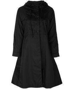 Prada | Расклешенное Пальто С Капюшоном