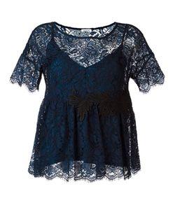 P.A.R.O.S.H. | Embroide Lace Blouse Xs Polyester/Viscose/Cotton/Polyamide