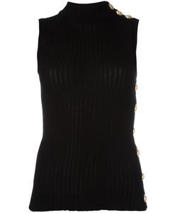 Balmain | Ribbed Tank Top 40 Cotton