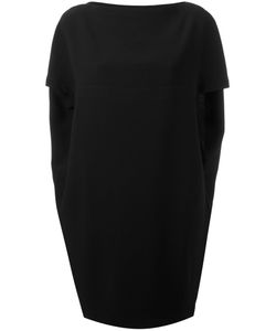 Gianluca Capannolo | Draped Back Mini Dress 44 Viscose/Acetate