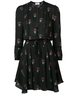 A.L.C. | A.L.C. Flowers Print Shirt Dress Size 8