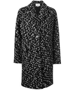 Carven | Oversized Tweed Coat 36 Cotton/Wool/Acrylic/Viscose