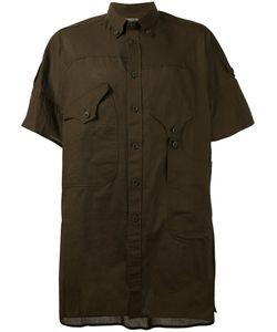 Yohji Yamamoto | Asymmetric Pocket Shirt Size