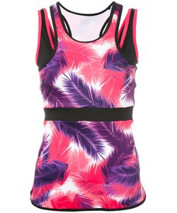 EA7 | Vigor 7 Palm Print Tank Top Size