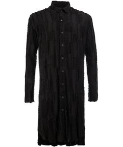 L'ECLAIREUR | Textured Checkered Long Shirt Size Small