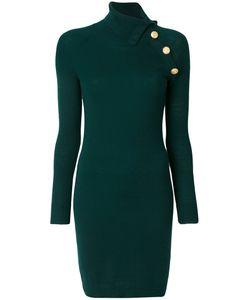 Pierre Balmain | Облегающее Платье С Декоративными Пуговицами