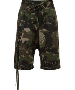 HACULLA | Camouflage Print Bermuda Shorts Xl Cotton