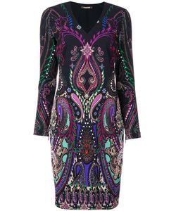 Roberto Cavalli | Платье С V-Образным Вырезом