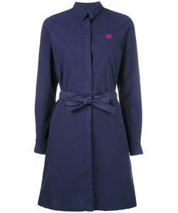 Kenzo   Платье-Рубашка С Поясом